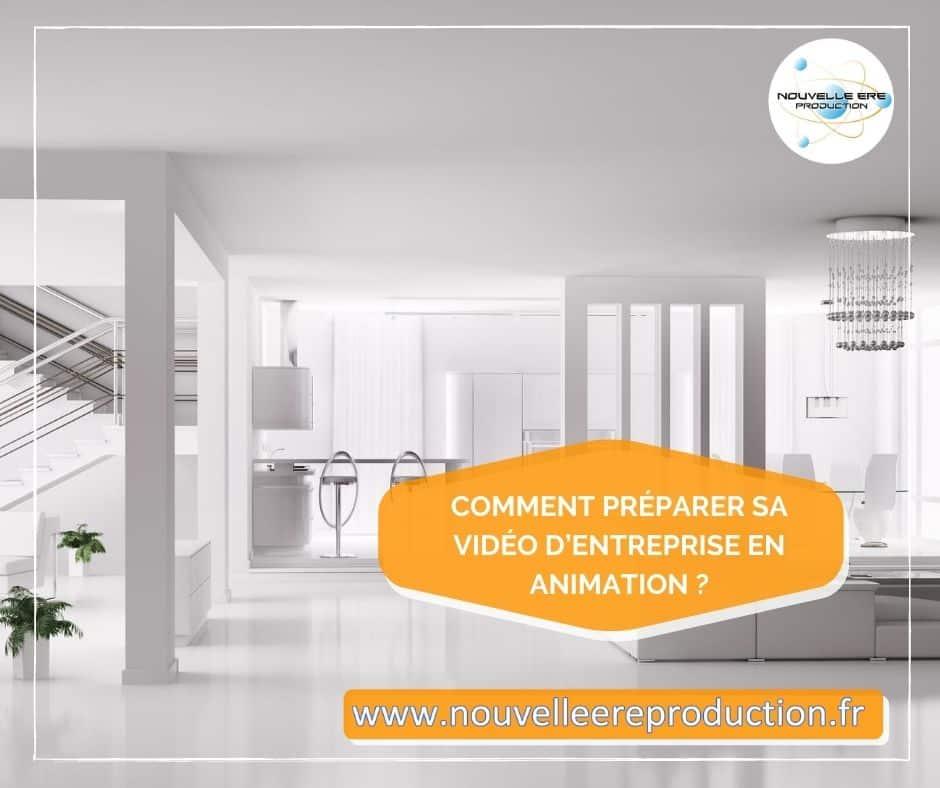 Comment préparer sa vidéo d'entreprise en animation