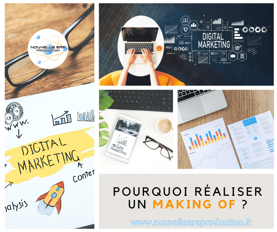 Pourquoi réaliser un making of ou un showreel