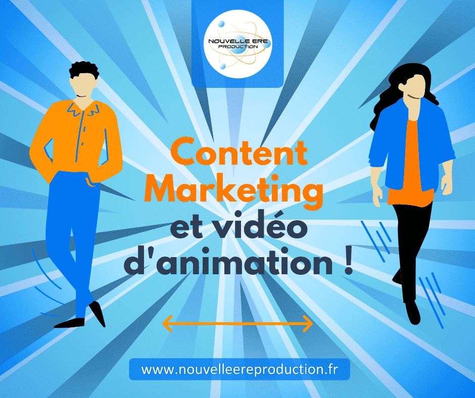Content marketing et vidéo d'animation