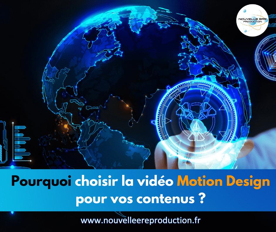 Pourquoi choisir la vidéo motion design pour vos contenus