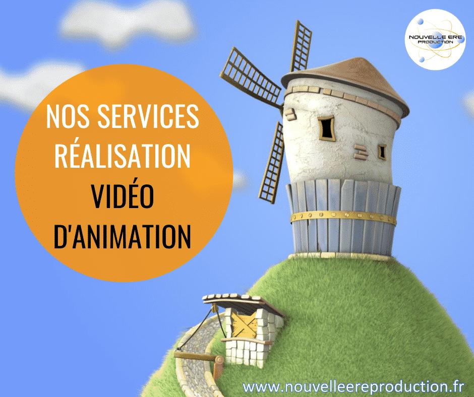Nos services réalisation vidéo d'animation
