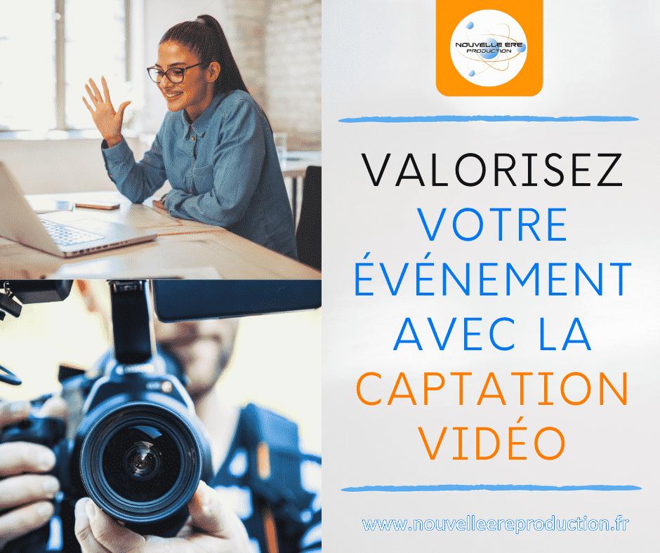 Valorisez votre événement avec la captation vidéo