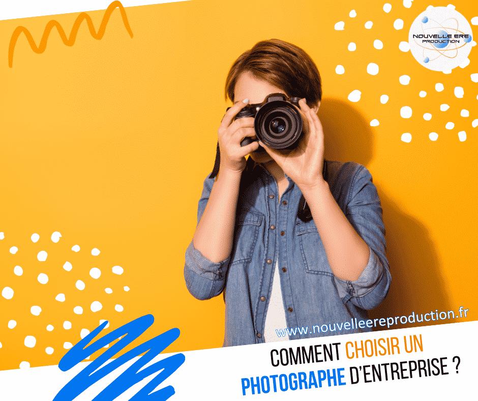 Comment choisir un bon photographe d'entreprise
