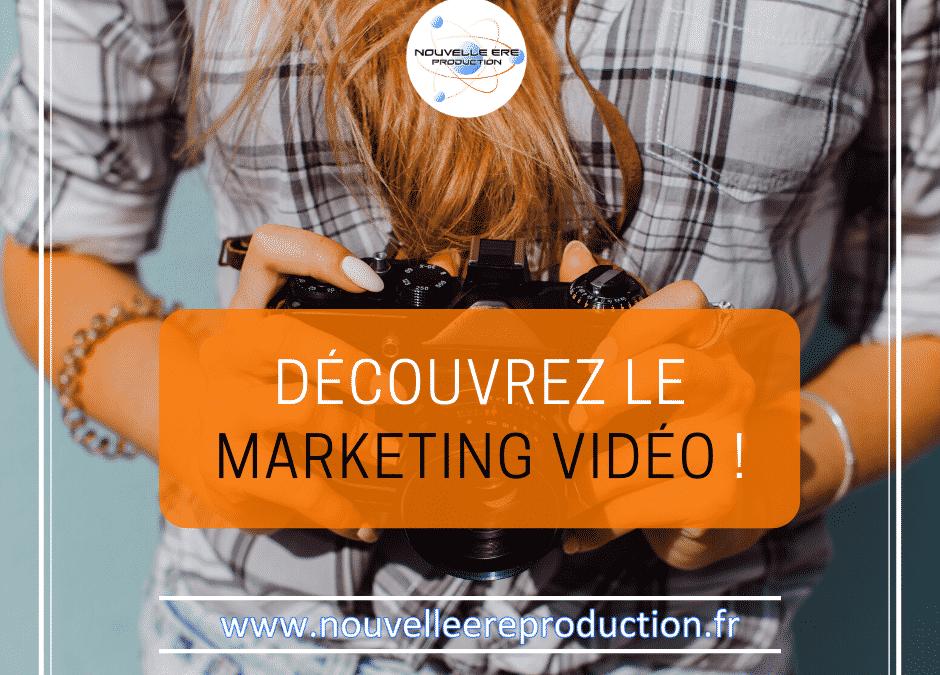 Découvrez le marketing vidéo !