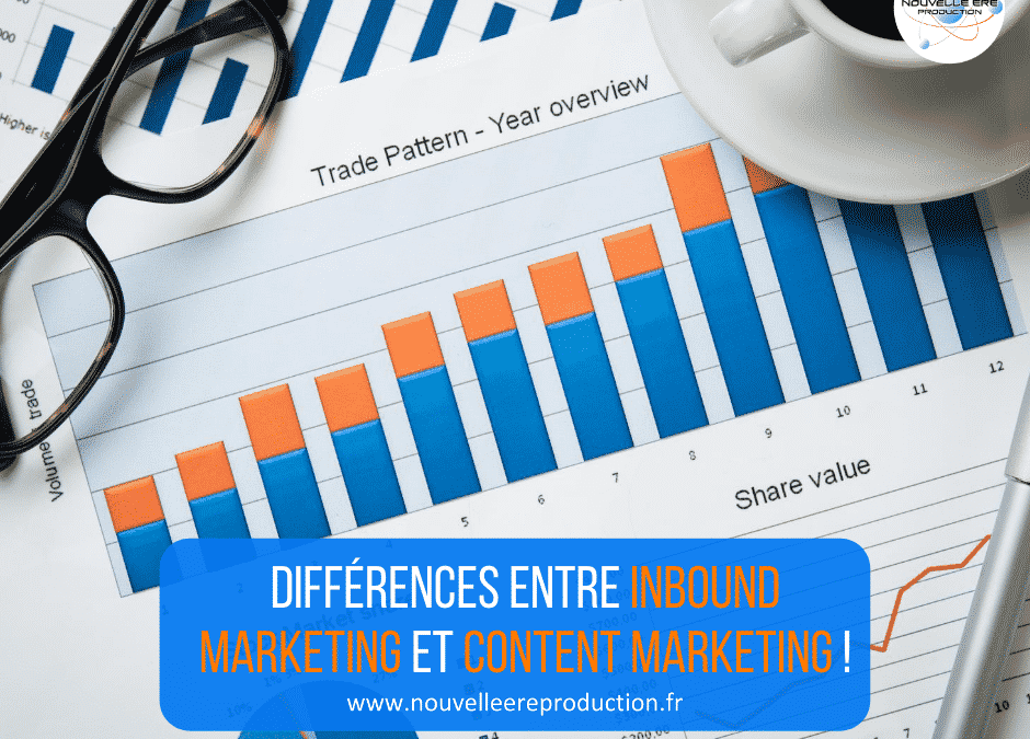 Différences entre inbound marketing et content marketing !