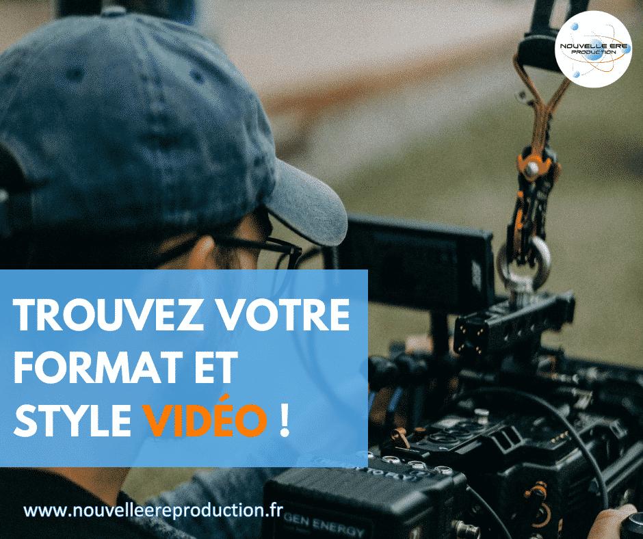 vidéo tournage format marketing digital