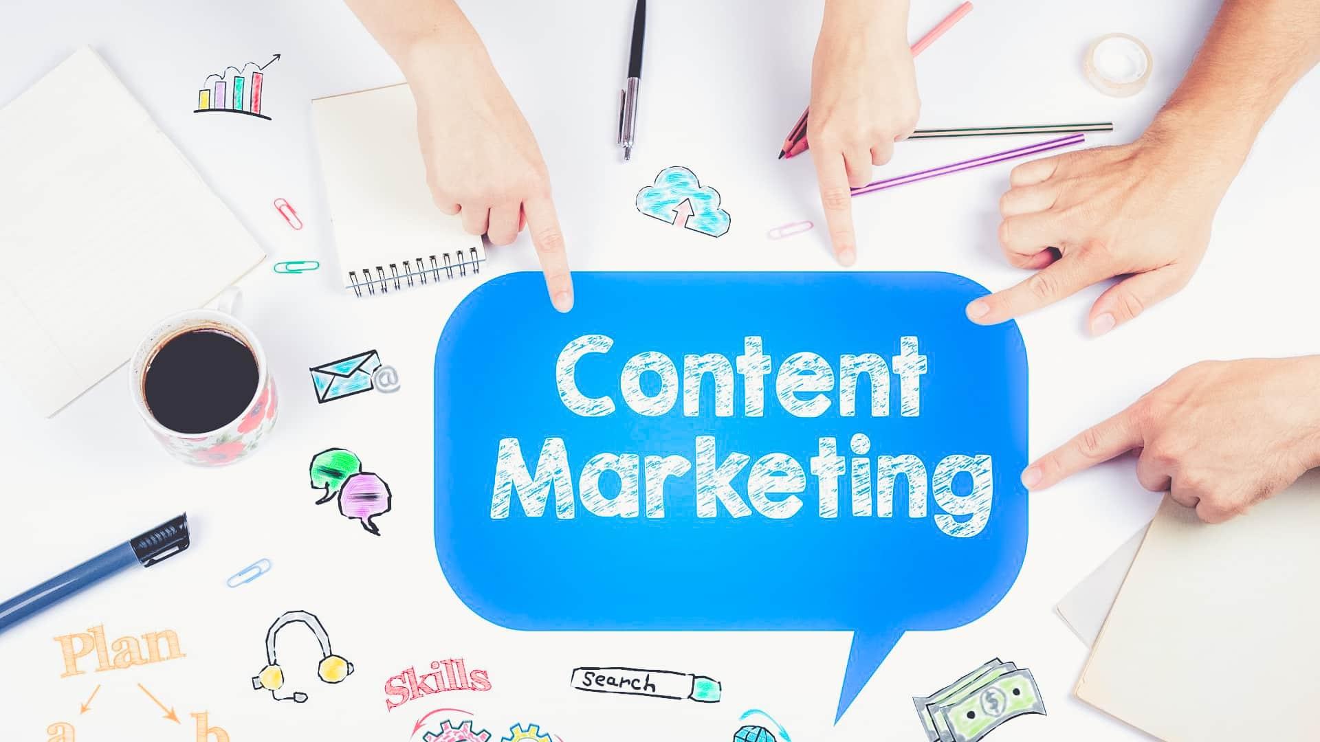 Content marketing et vidéo d'animation