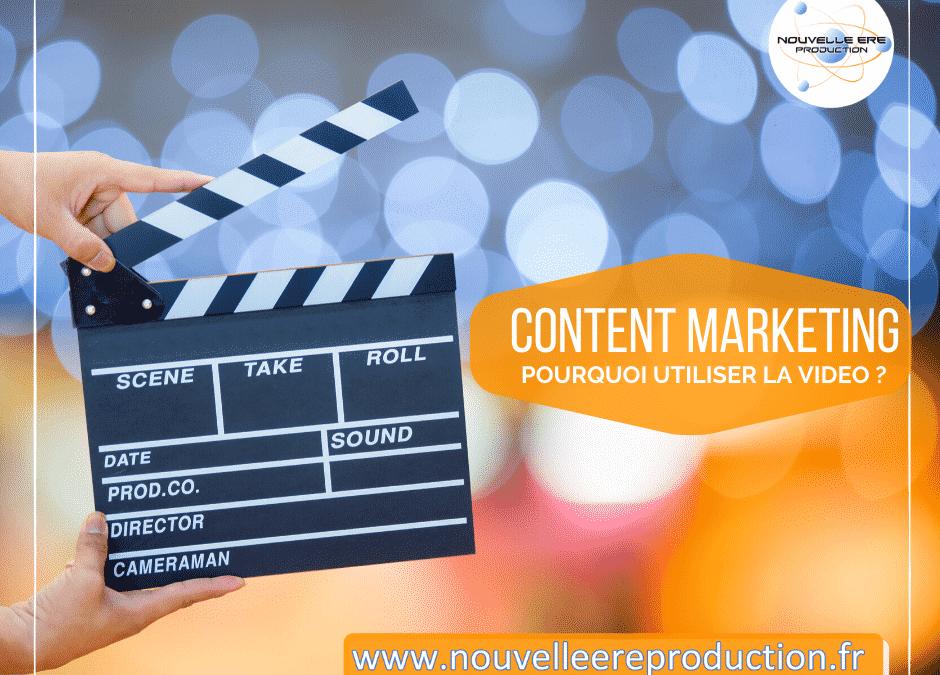 Content marketing pourquoi utiliser la vidéo ?