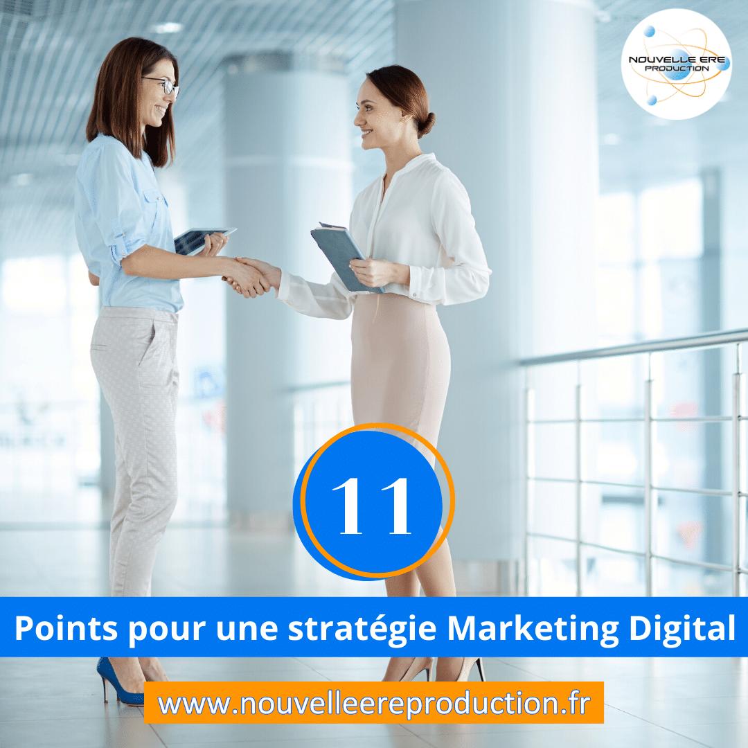 11 points pour mettre en place une stratégie marketing digital complète