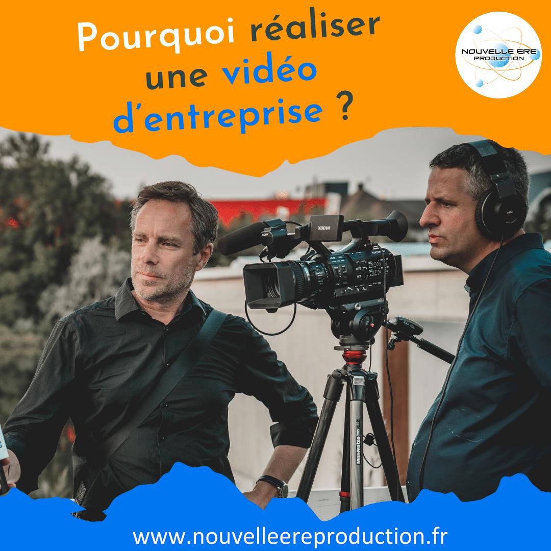 Pourquoi réaliser un film ou une vidéo d'entreprise ?