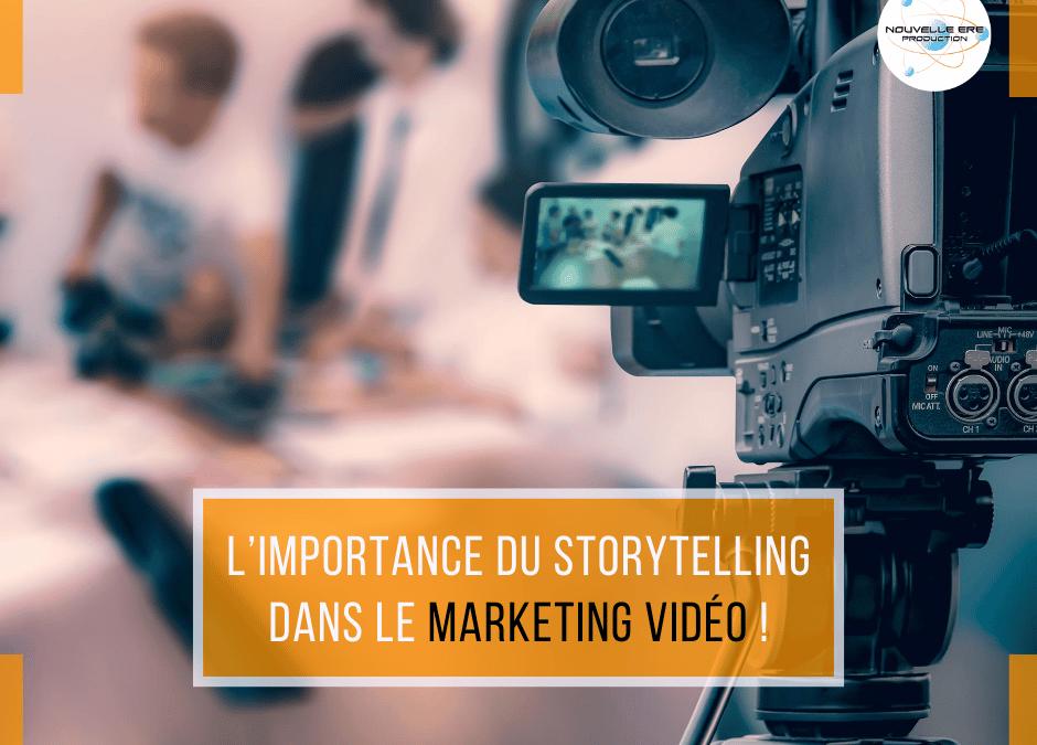 L'importance du storytelling dans le marketing vidéo