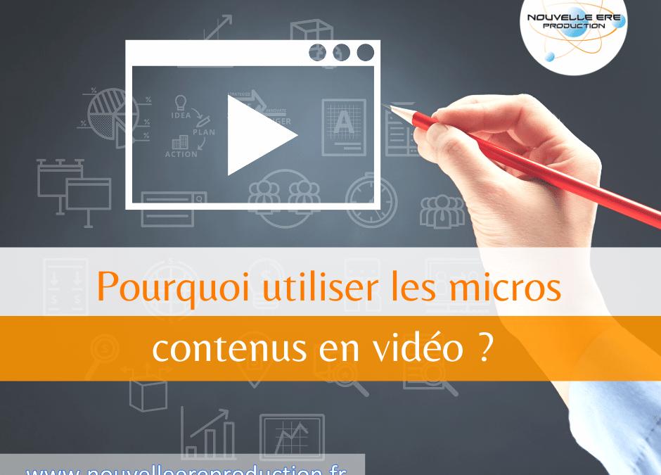 Pourquoi utiliser les micros contenus en vidéo ?